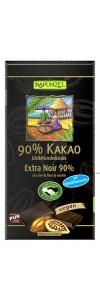 Bitterschokolade 90% Kakao mit Kokosbl..