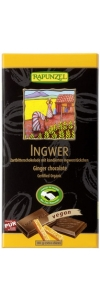 Zartbitterschokolade Ingwer Bio