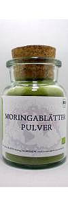 Moringa Pulver Bio im Korkenglas