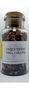 Früchtetee Pina Colada im Korkenglas