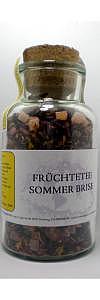 Früchtetee Sommerbrise im Korkenglas