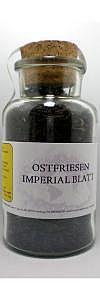 Ostfriesentee Imperial Blatt im Korken..