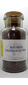 Rooibos Erdbeer Sahne im Korkenglas