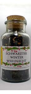 Winter Weihnachts Tee im Korkenglas