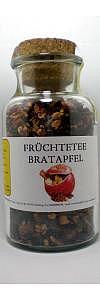 Früchtetee Bratapfel im Korkenglas