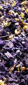Malvenblüten Blau Bio