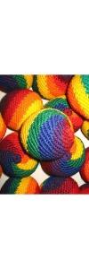 Jonglierbälle  Regenbogen 3er Set