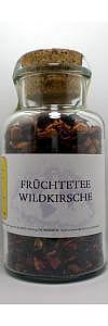 Früchtetee Wildkirsche im Korkenglas