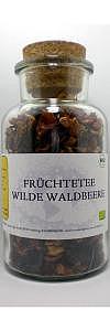 Früchtetee Wilde Waldbeere Bio im Korkenglas